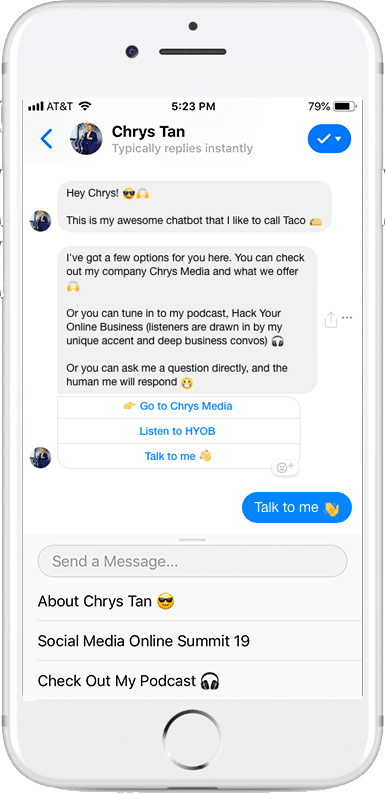 Chrys Media Messenger Marketing