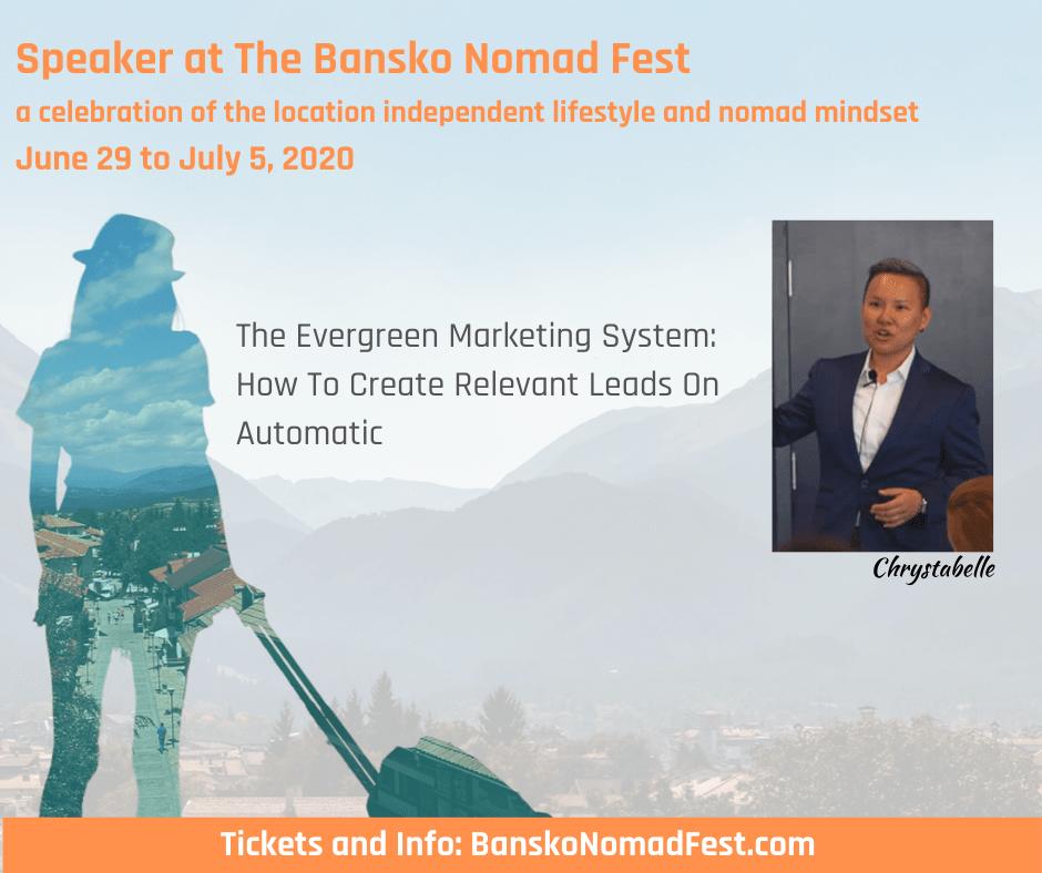 Bansko Nomad Fest Chrystabelle